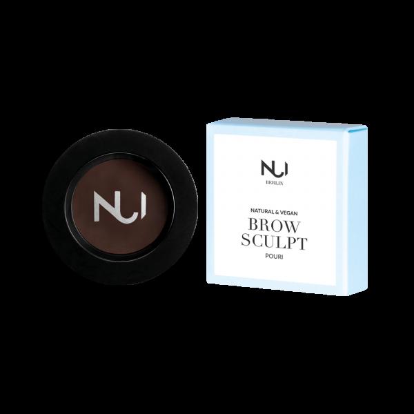 Pouri - Natural Brow Sculpt (Dark brown/black) NUI Cosmetics