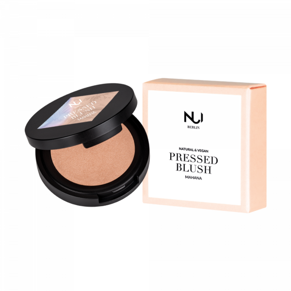 Mahana - Natural Pressed Blush NUI Cosmetics